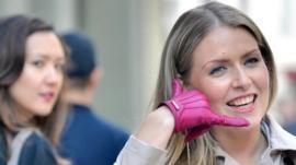 Glove phone