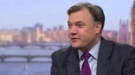 Shadow chancellor Ed Balls