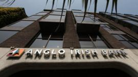 Anglo Irish headquarters in Dublin