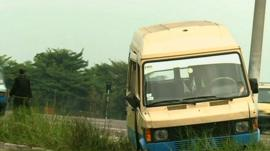 Kinshasa minibus