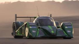 The Drayson Racing Technologies Lola B12 69/EV