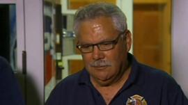 Fire chief Dan Fraijo