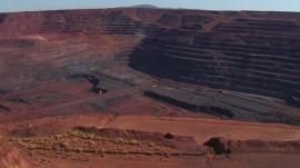 Australian iron ore mine