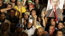 Supporters of Egypt