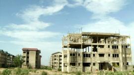 Buildings in Accra, Ghana