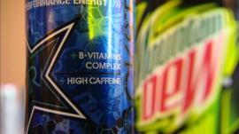High caffeine energy drinks