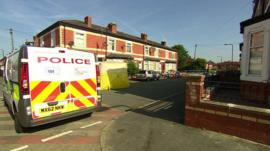 Gorton in Manchester, where the Taser stun gun shooting happened