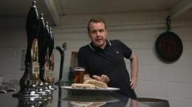 Matt Forde in pub