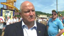 RMT general secretary Bob Crow