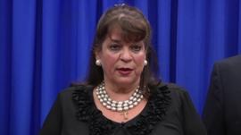 Florida State's Attorney Angela Corey