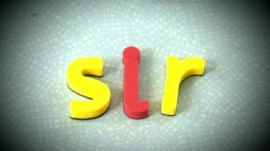 'Sir' spelled out by children's foam lettering