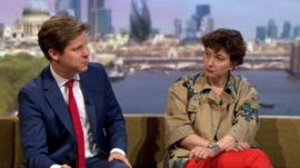 Fraser Nelson and Julia Hobsbawm on The Andrew Marr Show