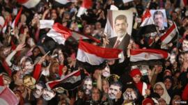 Pro-Morsi demonstration in Cairo