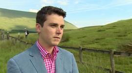 Mayor of Brecon Matthew Dorrance