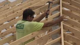 Australian house-building site
