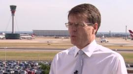 Heathrow Chief Executive Colin Matthews