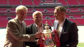 FA Cup at Wembley Stadium
