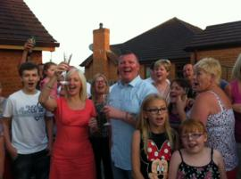 Totton family and friends