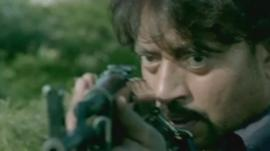 Actor Irrfan Khan in D-Day