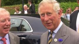 Prince Charles in Bugthorpe