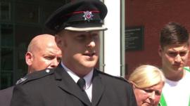 Mark Hutton, group manager for Lancashire Fire and Rescue,