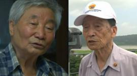 Two Korean War veterans