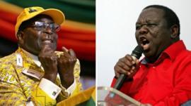 President Robert Mugabe and Prime Minister Morgan Tsvangirai