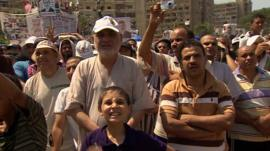 Supporters of Mohammed Morsi