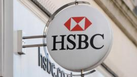 File photo of a branch of HSBC