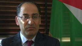 Dr Ibrahim Saif, Jordan's Minister of Planning & International Cooperation