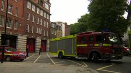 London fire station