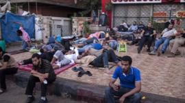 Supporters of Mohammed Morsi