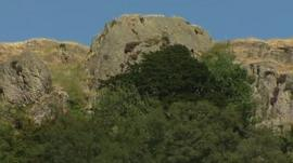 Castle Rock crag