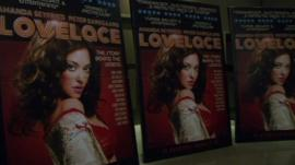 Poster for film 'Lovelace'