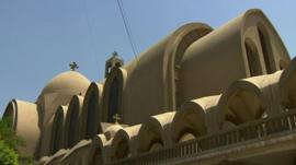 Coptic Christian church