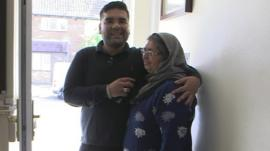Naughty Boy and his mum