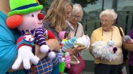 Knit 'n' Natter group in Cramlington