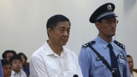Bo Xilai in court