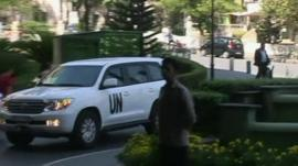UN Inspectors in Syria