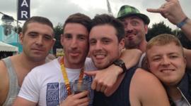 Fans at Leeds Festival