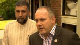 MP Robert Halfon at the Harlow Islamic Centre