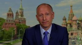 BBC Russia Correspondent Steve Rosenberg