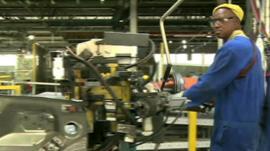 Motor industry worker