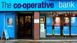 Co-op Bank branch in Derby