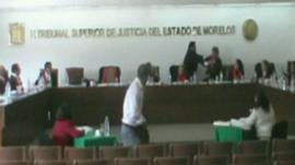 Mexico judge punches colleagues