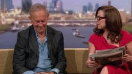 Simon Schama and Amanda Platell