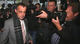 Coronation Street actor Michael Le Vell arrives at Manchester Crown Court