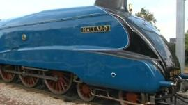 Mallard will be on display in Grantham during the Festival of Speed