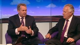 Liam Fox and Peter Hain