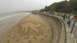 Sand Art, Filey